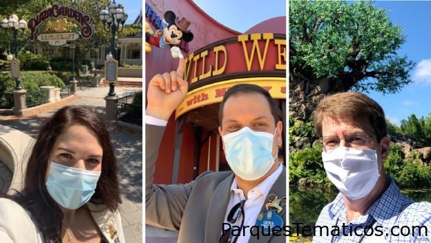 Siga al equipo de Disney para una mirada al interior de Disneyland Paris y Disney's Animal Kingdom