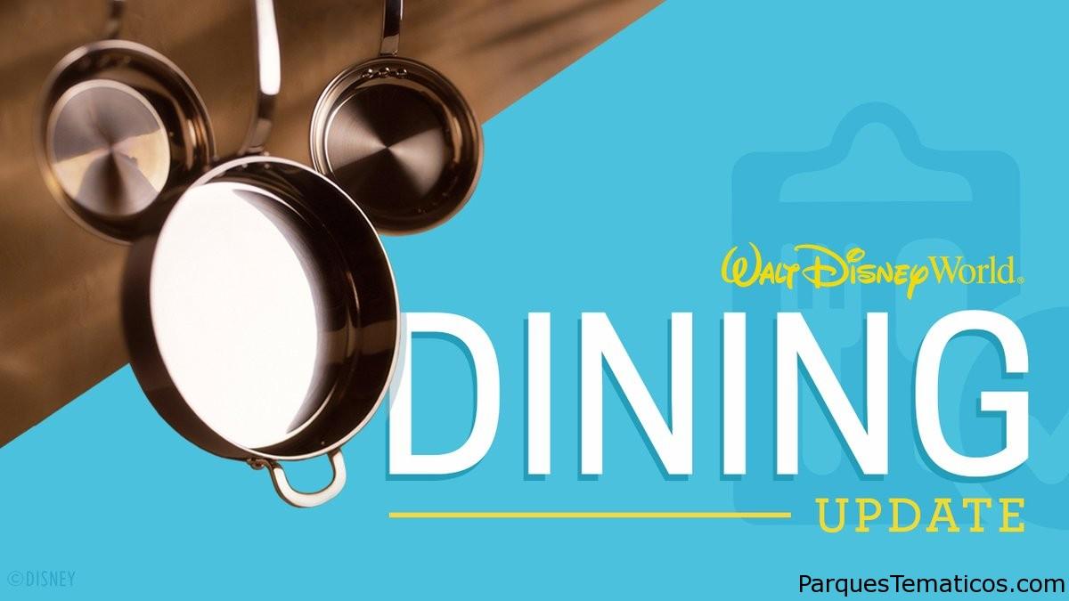 Las reservas de restaurantes y experiencias selectas de Walt Disney World están abiertas para reservas