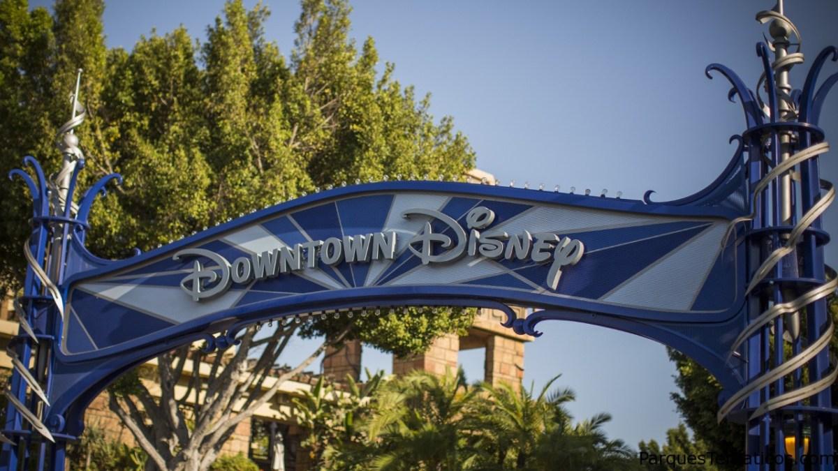 Downtown Disney District datos de su reapertura