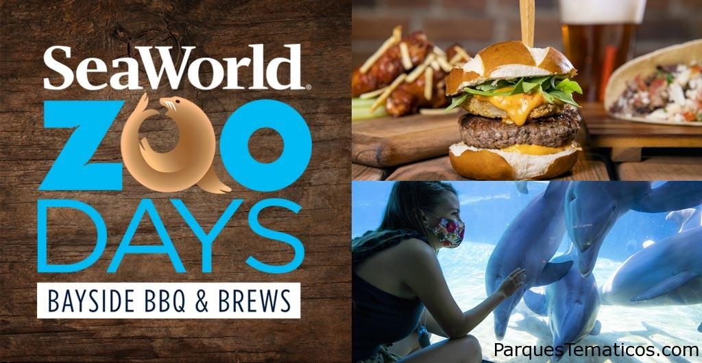 SeaWorld San Diego presenta una nueva experiencia al aire libre en Zoo Days Bayside BBQ & Brews