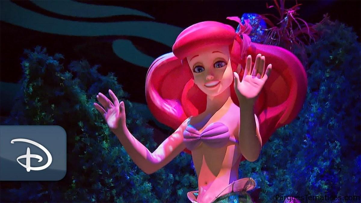 Sumérgete en La Sirenita Ariel's Undersea Adventure en Disneyland Resort