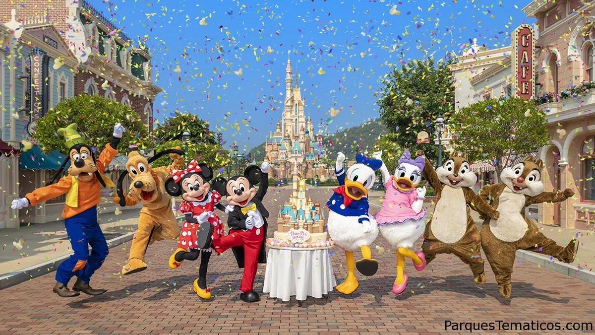 Hong Kong Disneyland Resort celebra su 15 aniversario
