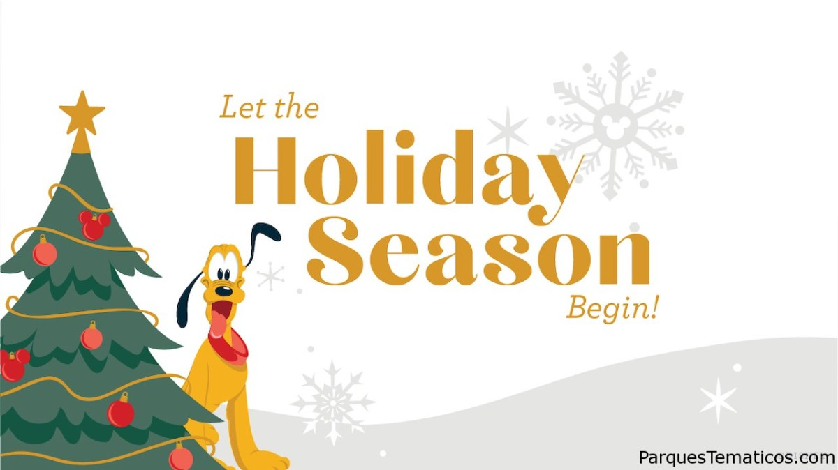 Se lanza la sección especial 'Everything Holidays' para celebrar Disney Magic of the Season