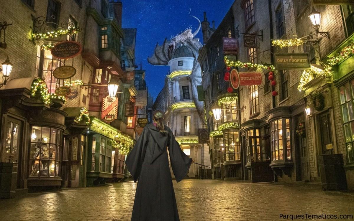 Universal Orlando debutará este año  la celebración de las Fiestas Navideñas hasta el 3 de enero del 2021