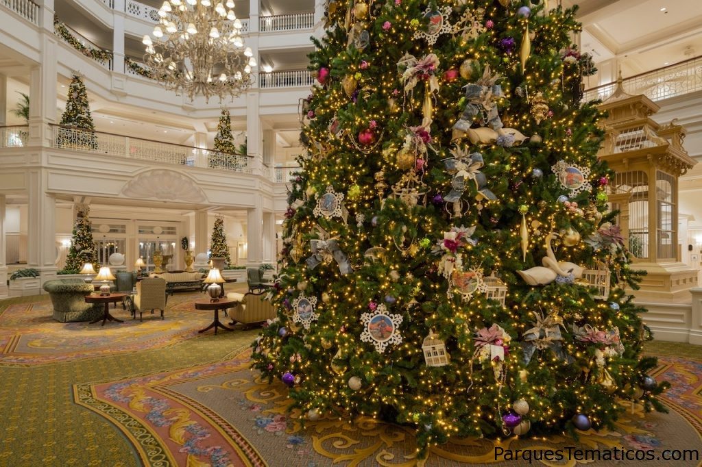 Holiday Magic en Disney's Grand Floridian Resort & Spa