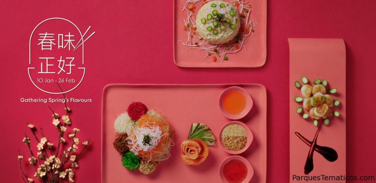 Deléitate con los sabores de la primavera este año nuevo chino en Resorts World Sentosa