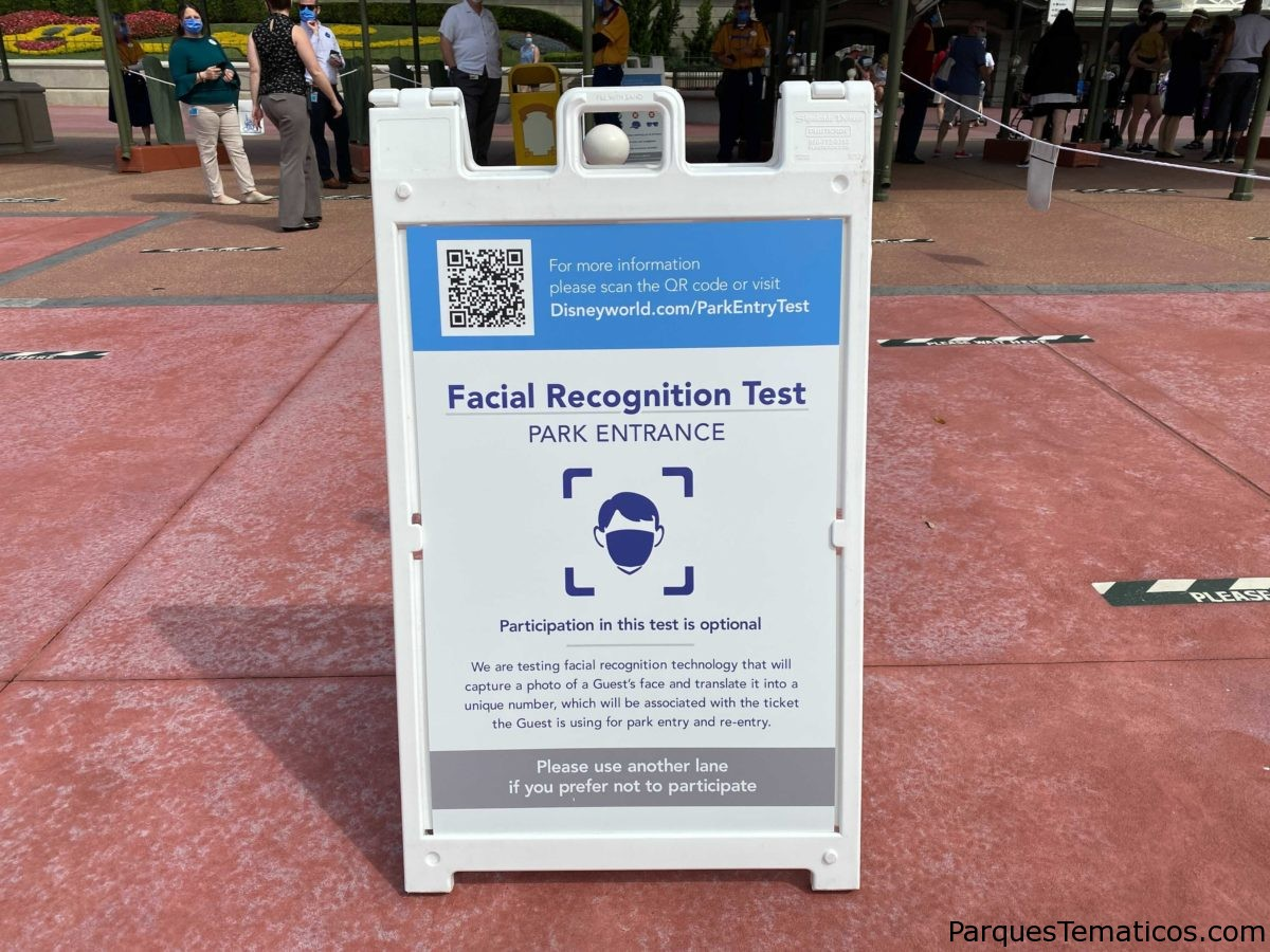 Walt Disney World comienza la prueba de reconocimiento facial para la entrada al parque