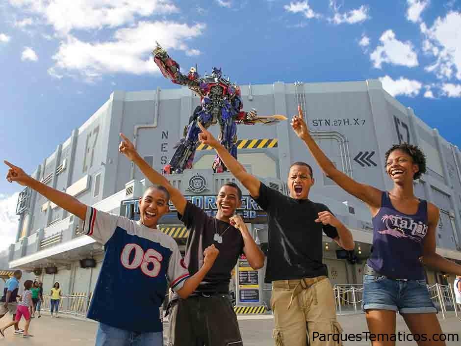 Guía completa de TRANSFORMERS The Ride 3D en Universal Studios Florida