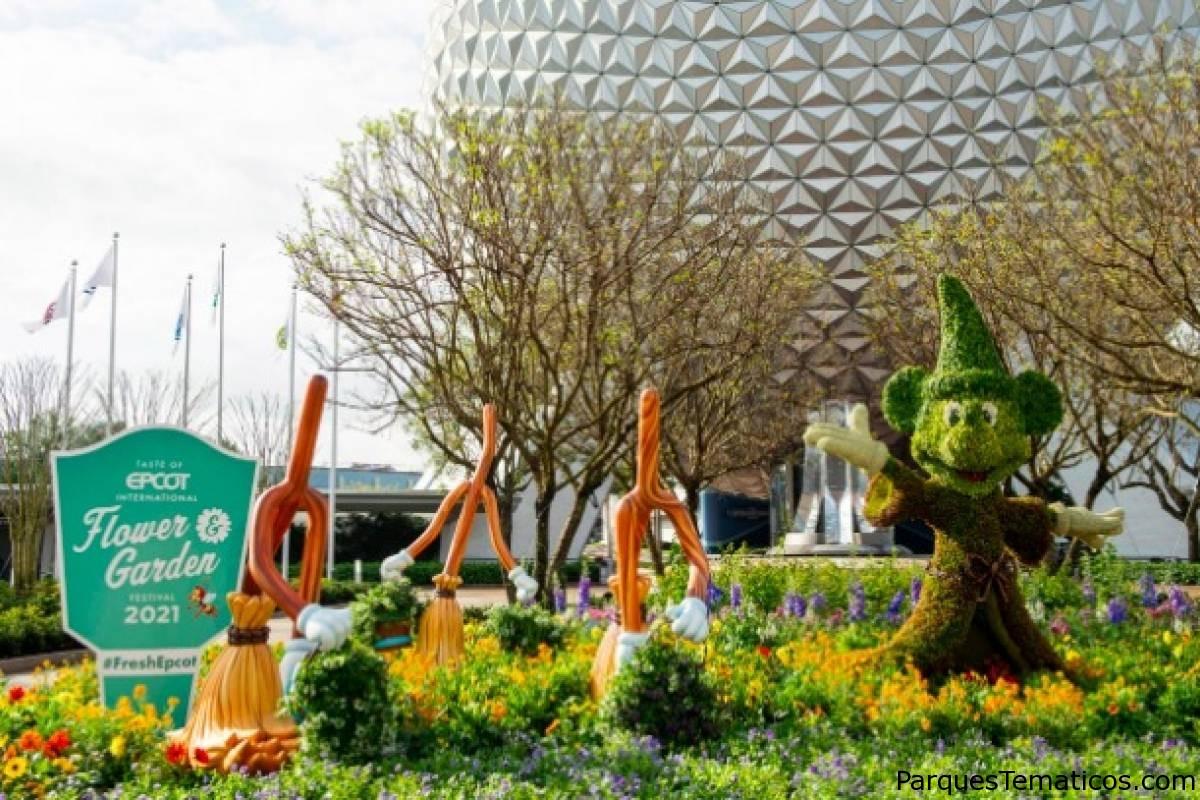 Taste of EPCOT International Flower & Garden Festival Florece durante 125 días en 2021