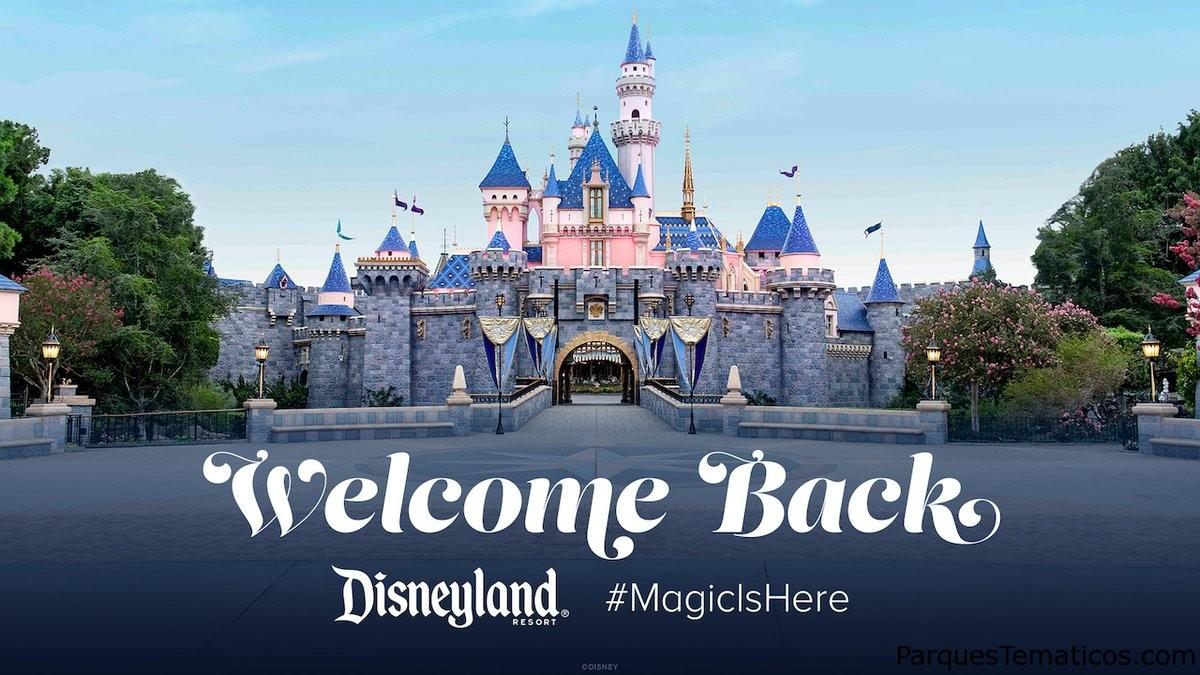 Disneylandia reabrió hoy sus puertas junto a Disney California Adventure Park y Disney's Grand Californian Hotel & Spa
