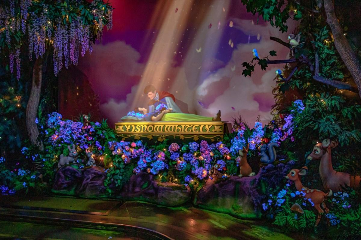 Snow White's Enchanted Wish celebra un cuento inmortal en Fantasyland en California