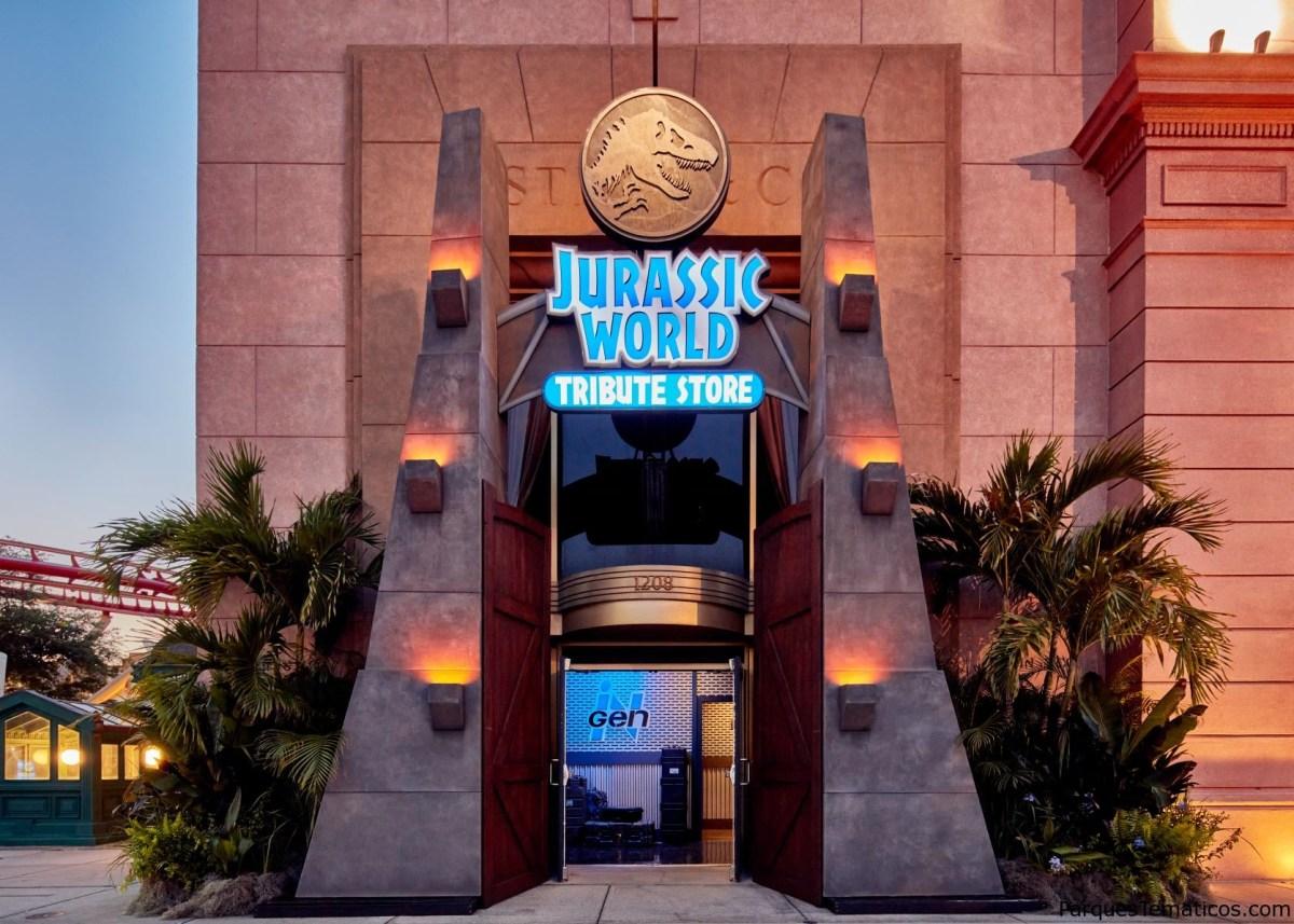Universal Orlando presenta la tienda de Jurassic World, abriendo el 27 de mayo en Universal Studios Florida