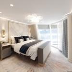 Disney Cruise Line idealiza una suite incomparable en la chimenea del Disney Wish