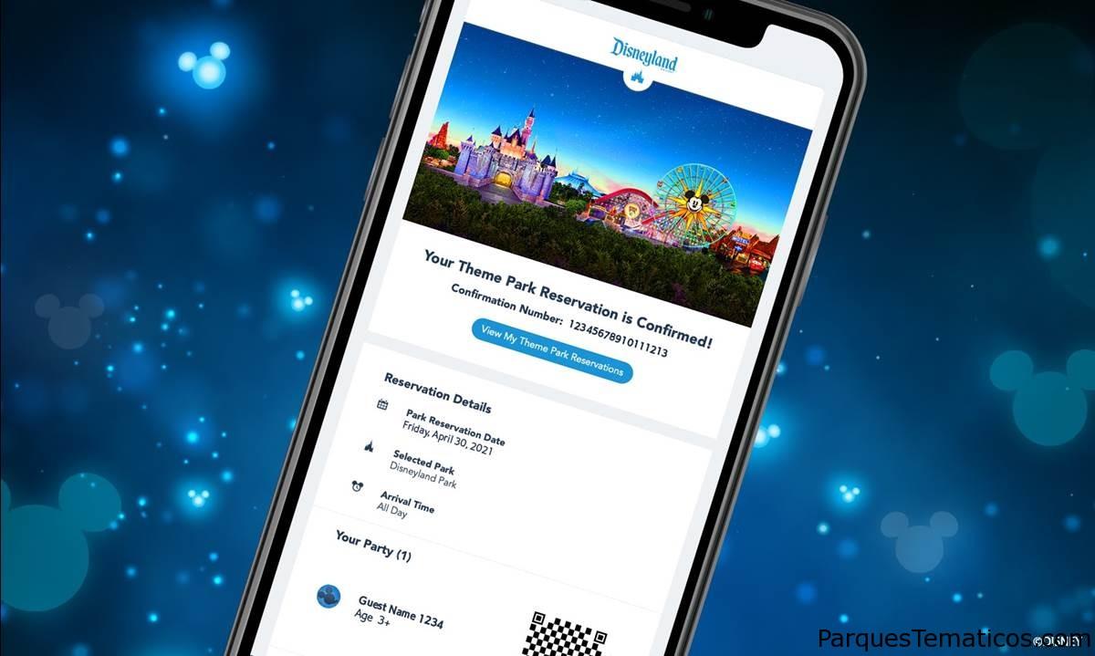 Aquí está su lista de planificación para su visita a Disneylandia 2021