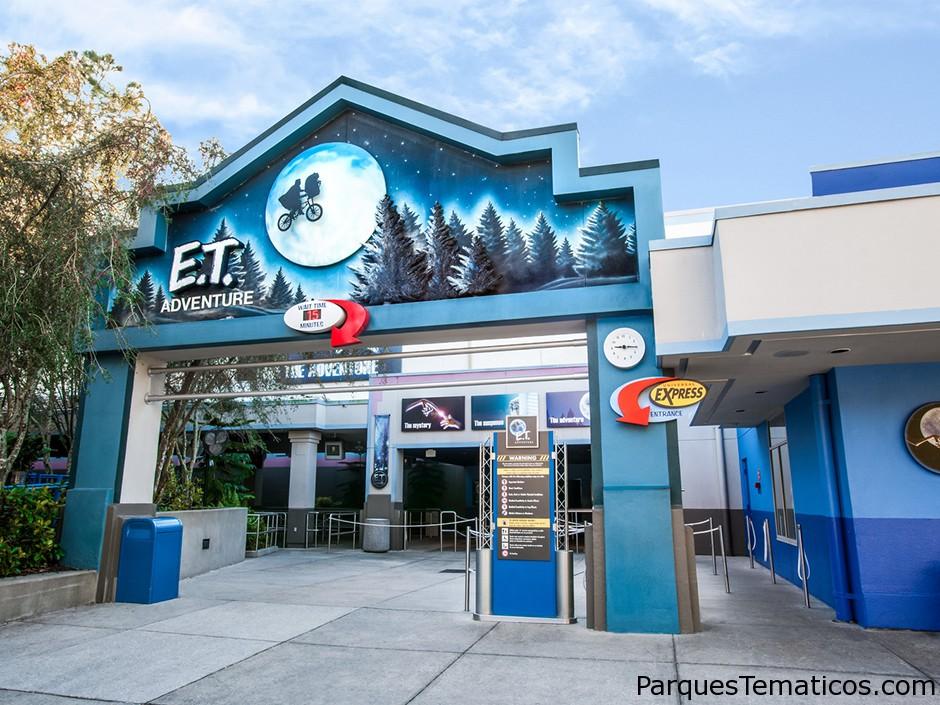 Guía completa de ET Adventure en Universal Studios Florida