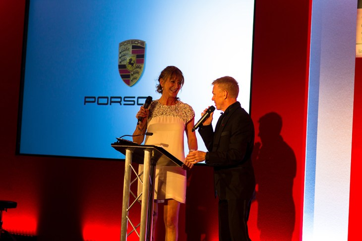 Louise Goodman and Alan Hyde hosted the evening