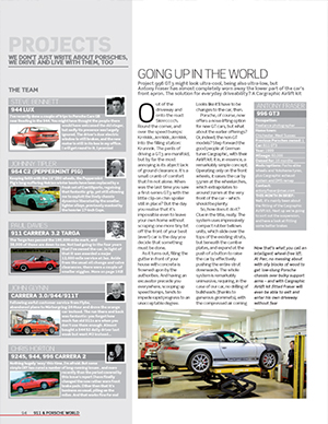 911 & Porsche World – July 2011