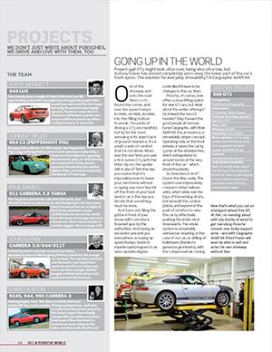 911 & Porsche World – July 2011