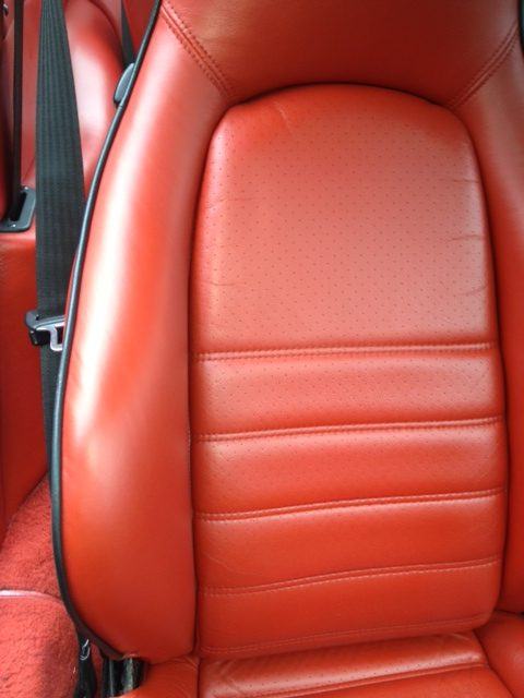 porsche interior repair after