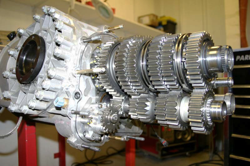 A gearbox rebuild will require a specialist to remove and inspect the mechanism in a workshop