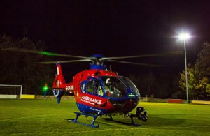 Devon Air Ambulance night operations