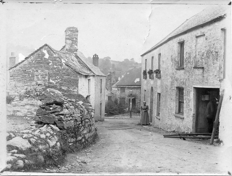 Parracombe Lane, Devon - kind permission of the Antell Family