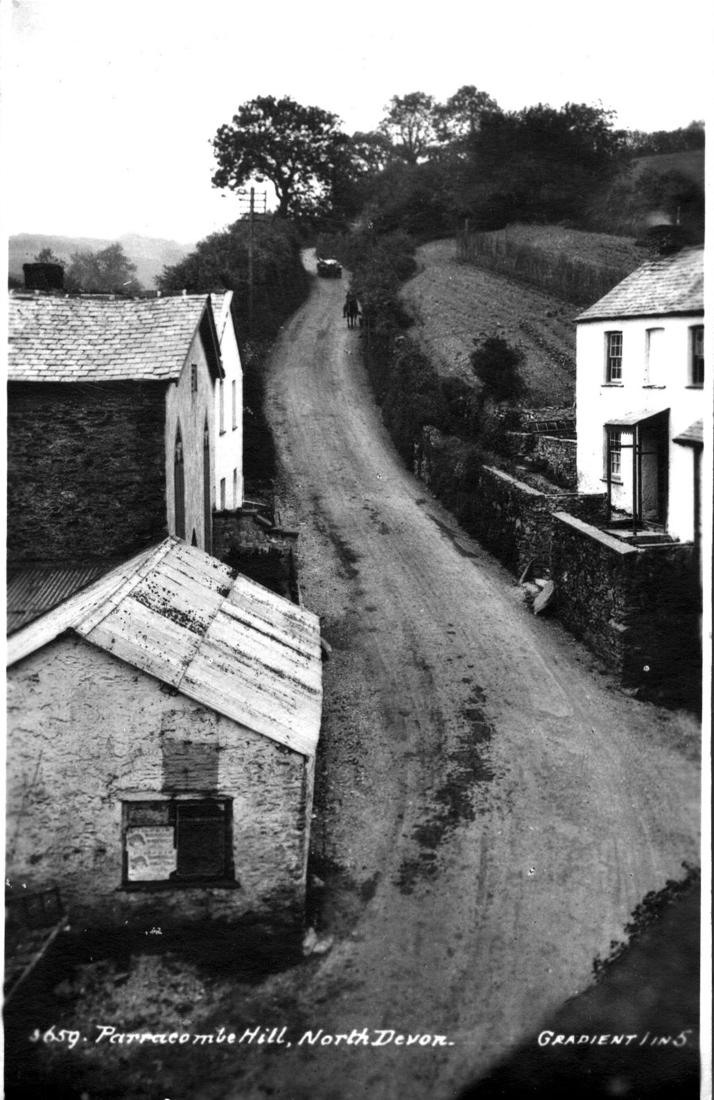 Ley's Lane, Parracombe, Devon - Kind permission Bill Delbridge