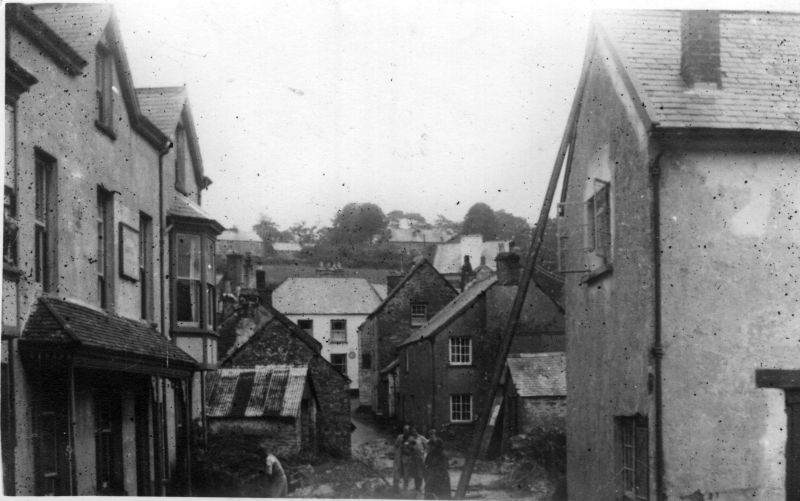 Fox and Goose Parracombe Flood August 1952 - Kind permission of Barbara Ford