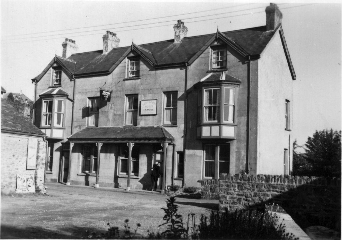 Fox and Goose Pub Parracombe, Exmoor - Kind permission of Barbara Daltrey