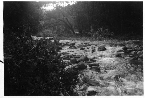 Parracombe Flood of 1952 River Heddon - Kind permission of Emma Daborn