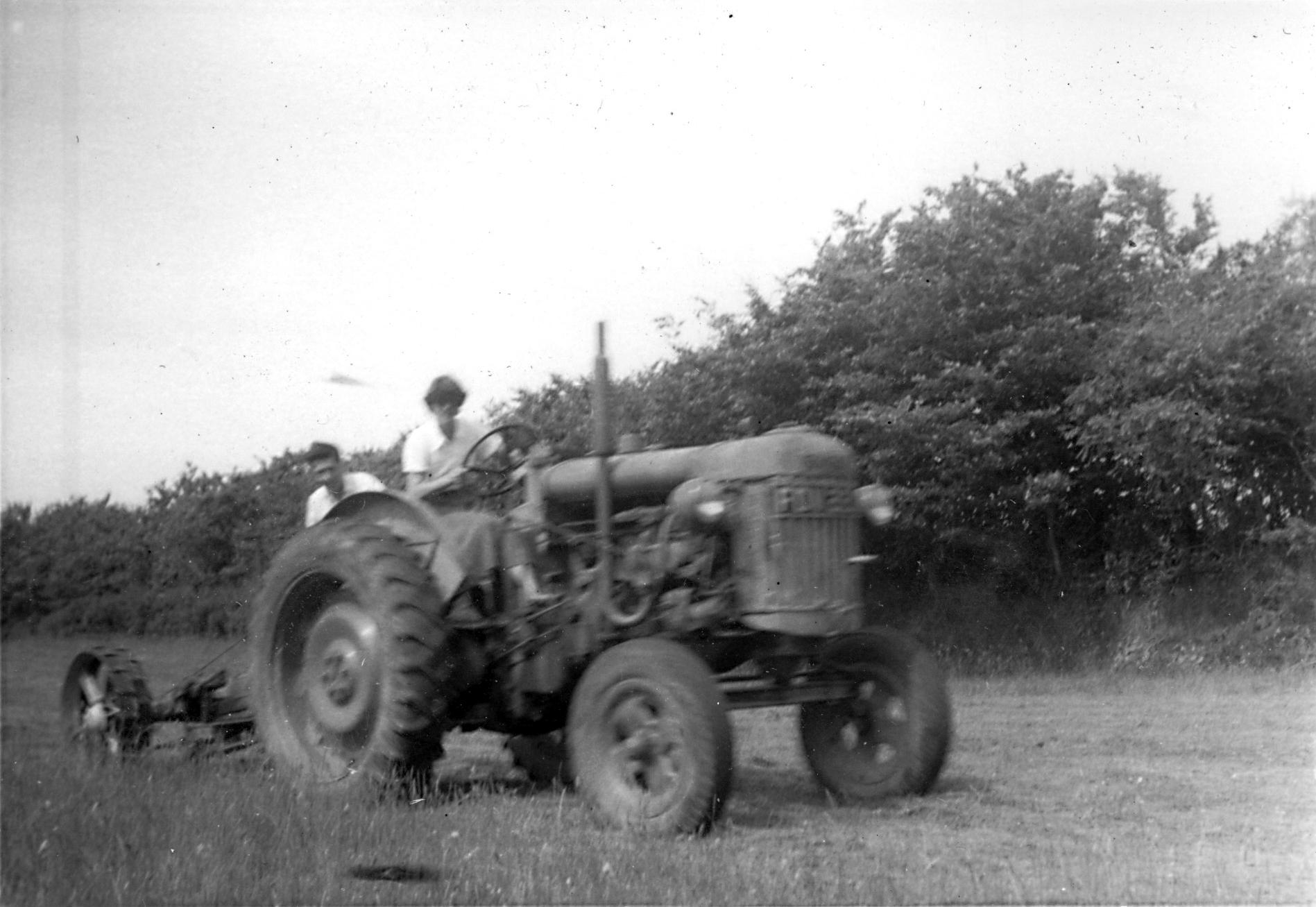 Tractor 1959 -kind permission of Emma Tucker