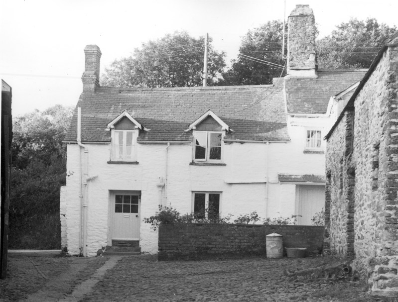 Middle Bodley Farm 1960, Parracombe, Devon - kind permission of Emma Tucker