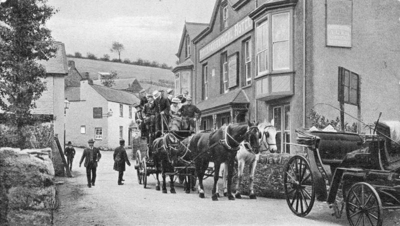 Fox and Goose Pub, Parracombe, Exmoor - Kind permission of Philip Petherick