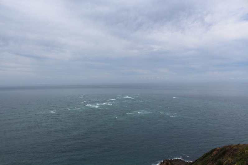 The Sea having Sex - Where the Pacific Ocean and the Tasman Sea meet