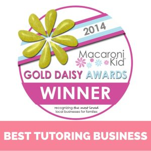 Voted a Macaroni Kid Award Winner for Best Tutoring Business in Fredericksburg