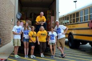 A box truck full of supplies!!