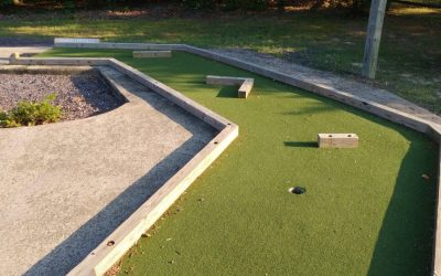 Fun, Cheap, and Easy Ideas to Do With Your Kids Today- Wilderness Presidential Resort Mini Golf