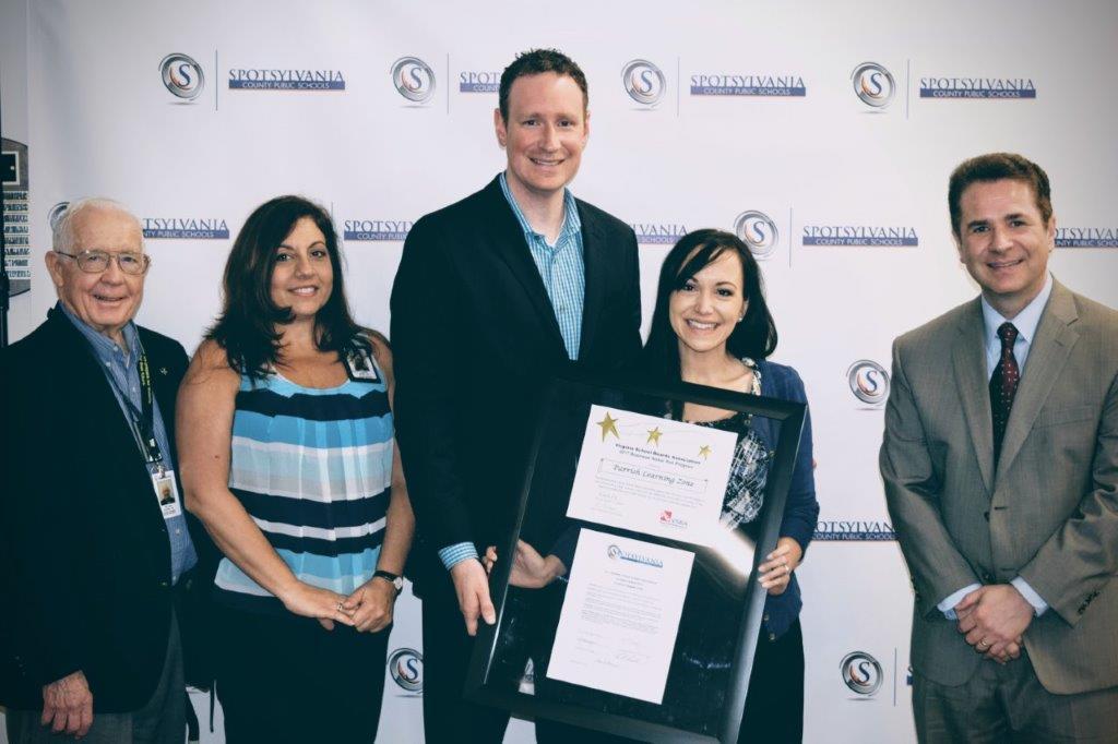 spotsylvania county public schools, business partner of the year