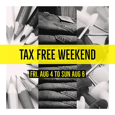 tax free weekend, virginia, fredericksburg, va