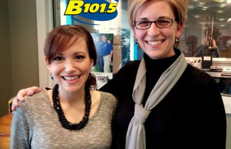 Nina is a regular guest on the Dee Daniels' show on B101.5