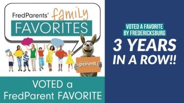 fredericksburg family favorite, voted, award