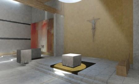 Inserimento tabernacolo nel contesto n.1
