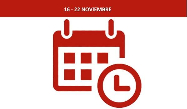 Esta semana en Buensu (16 -22 NOVIEMBRE)