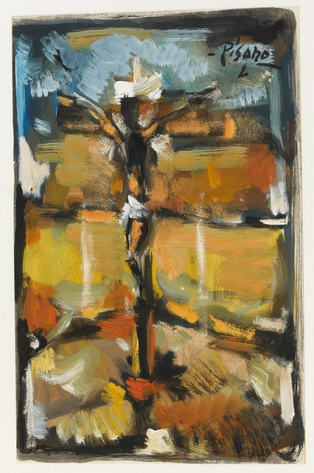 Crucifixión, Eduardo López Pisano