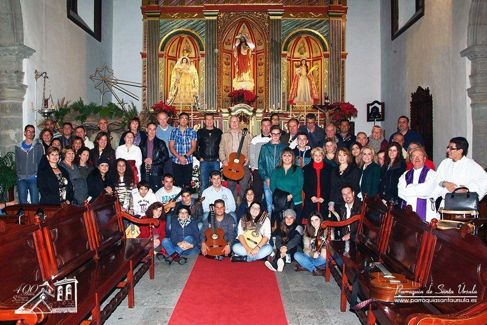 Participación de Varias agrupaciones Folclóricas en la Misa del 21 de Diciembre
