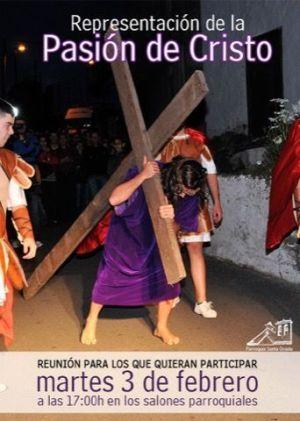 Representación Pasión de Cristo Santa Úrsula