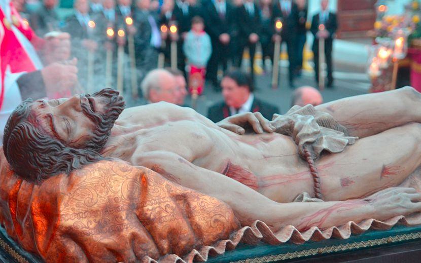 Cristo Yacente – 1998