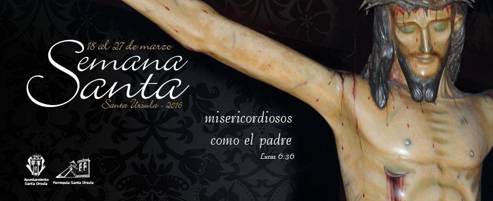 Cartel Semana Santa – Santa Úrsula 2016
