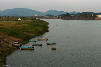 Boats on the Nakdong