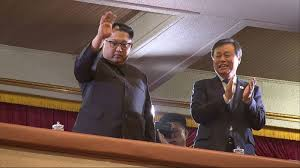 Kim Jong-Un attends rare concert by South Korean pop stars
